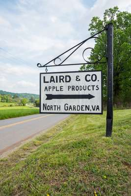 Directions to the entrance of the Laird & Company site
