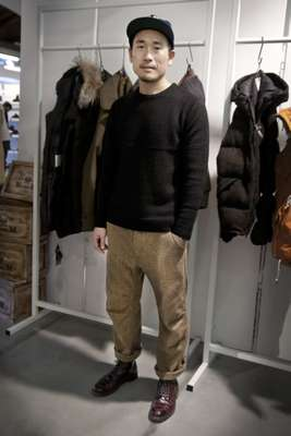 Cho Sung Jun, creative director of Italian outerwear brand Museum