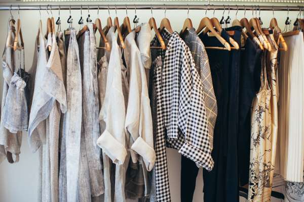 Clothing at Timi Hayek's boutique