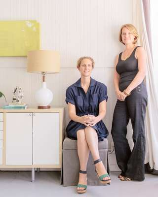 Courtney Rowson and Amy Pastre of Stitch Design Co