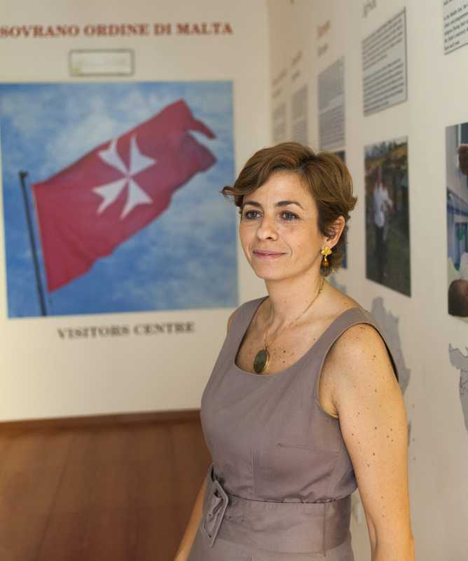 Monica Laios, curator of the visitors centre
