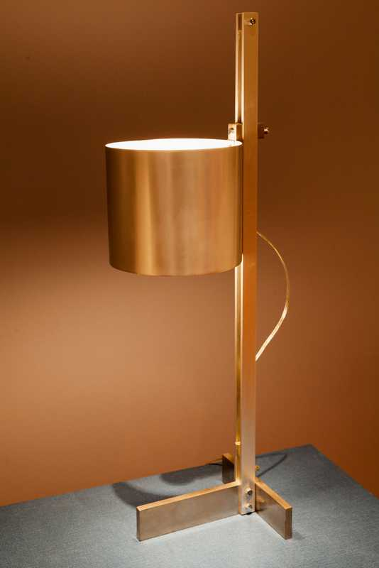 Modernist lamp at Demisch Danant