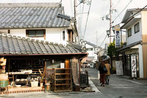 Sasayama retains its old-fashioned atmosphere