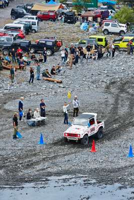 Racing at the Jimny Carnival
