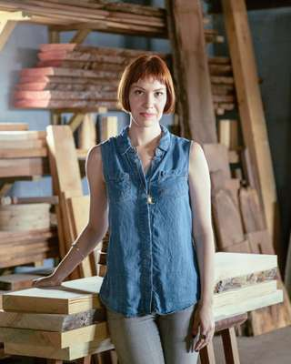 Celia Gibson of Moran Woodworked Furniture