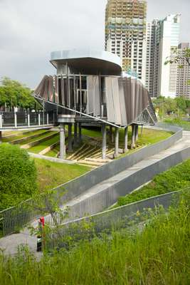 Taichung's newest park, Maple Garden
