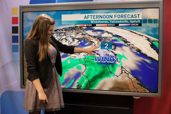 Things are looking windy for Yellowknife