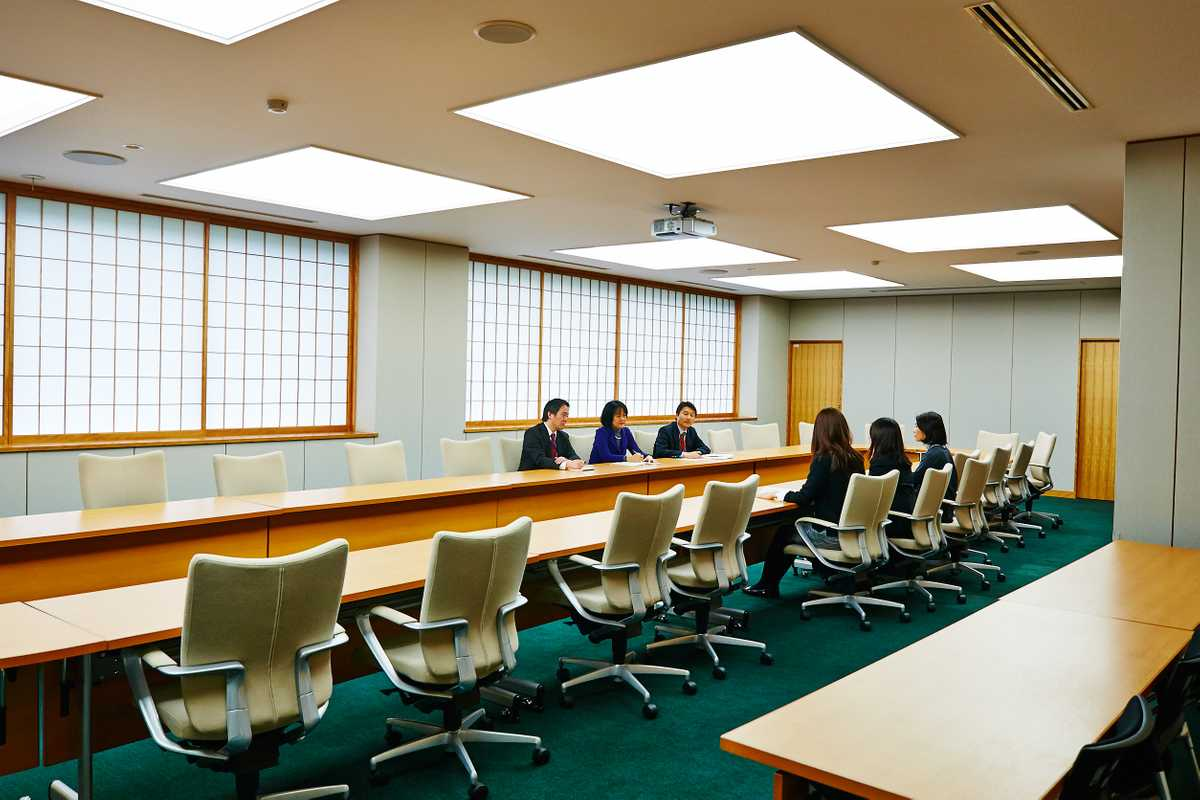 One of the ministry's meeting rooms