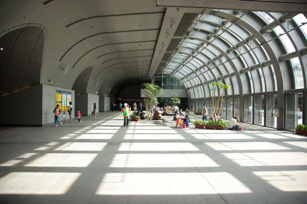 Inside Da'an Park  Station