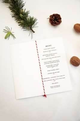 Festive lunch menu, Czech Republic