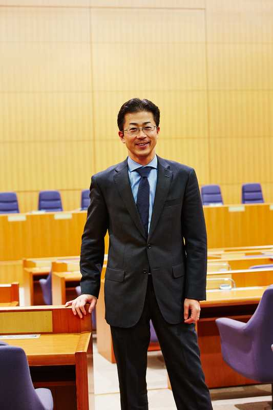 Toshihiro Kitamura, director of the ministry's western Europe division