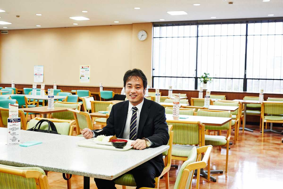 Press officer Toshiya Takarada