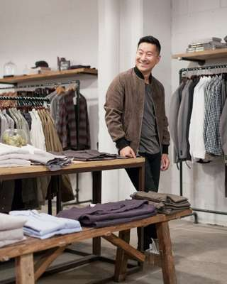 Ethan Song, CEO of Frank & Oak
