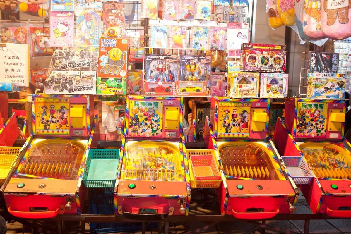Night-market games