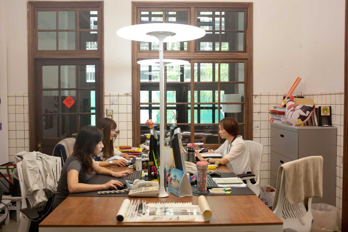 Office at the Taiwan Design Center