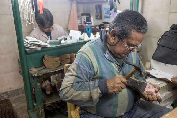 Every shoe is carefully made by hand