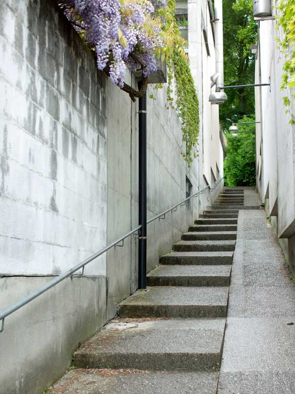 Steps take their cue from Bern's old town