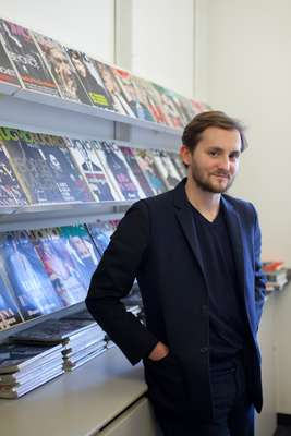 Alan Prada,  managing editor of 'L'Uomo Vogue'
