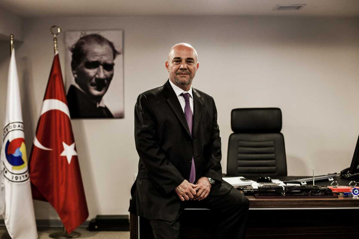 Huseyin Isteermis, general manager of BALO, at the company's HQ in Izmir