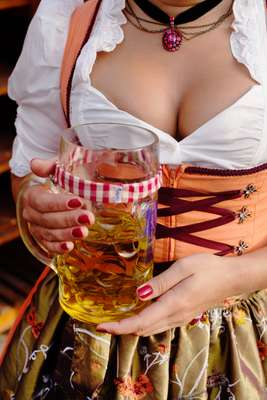 Nice jugs of beer, a welcome sight