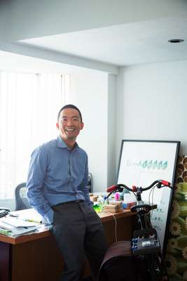 Founder and chairman Ken Hasebe