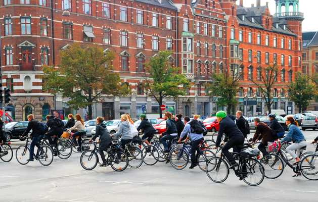"Copenhagen ""bicycle superhighway"""