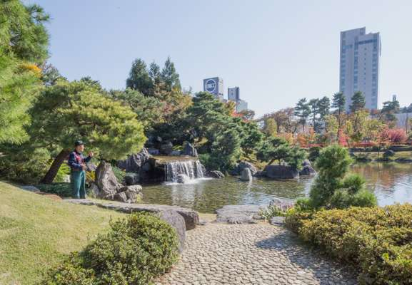 Toyama Castle Park is a scenic recreation area in the city