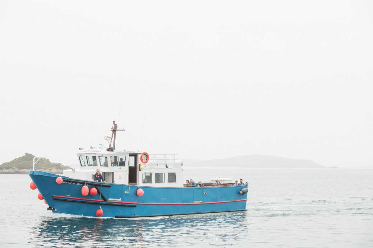 Boat to Tresco