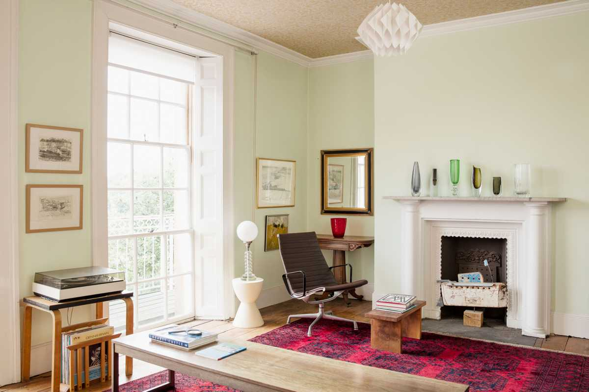 Light-filled first-floor sitting room