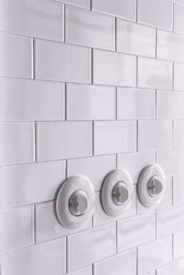 Porcelain light switches