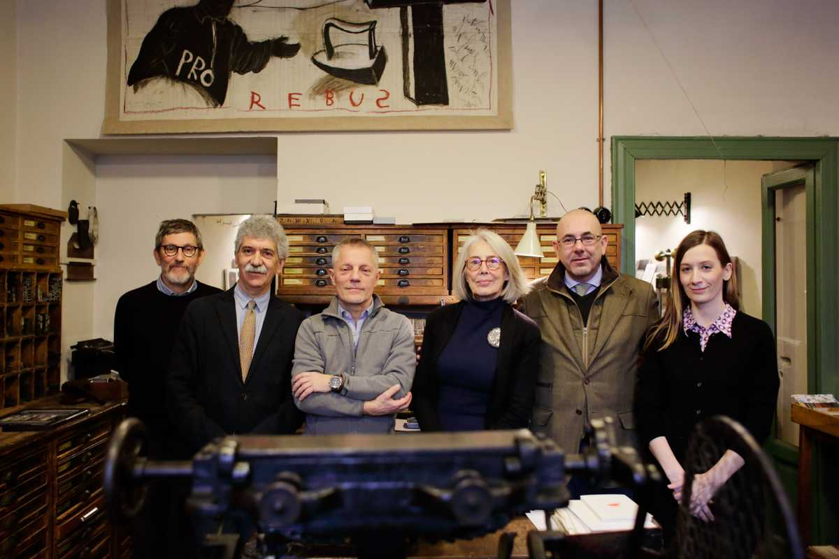 Who: Roberto di Puma (pictured, second left) and fellow pen- and-paper buffs.