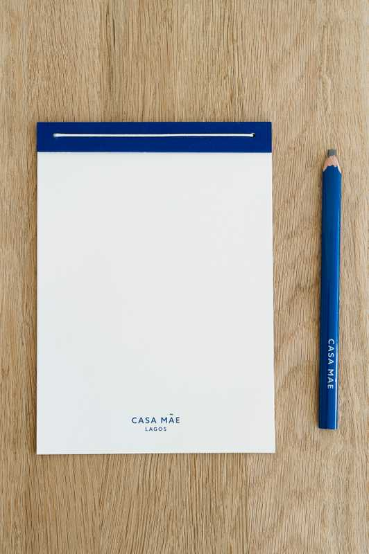 Casa Mãe notebook designed by Nambam