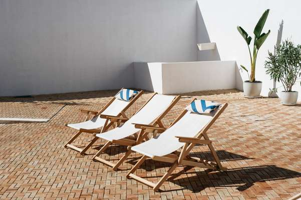 Deck chairs by Lona
