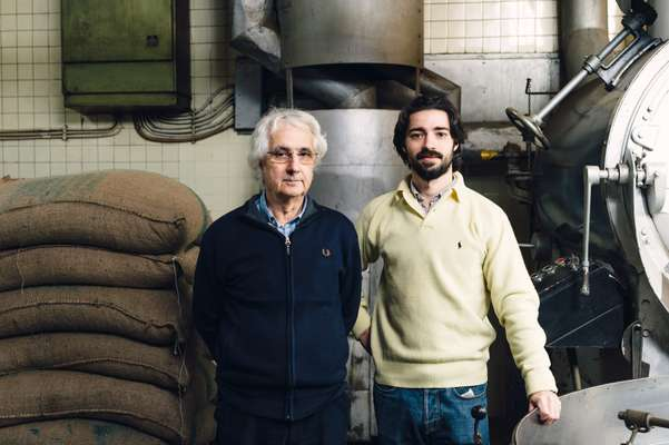 Owners Jorge Monteiro (left) and his son Francisco