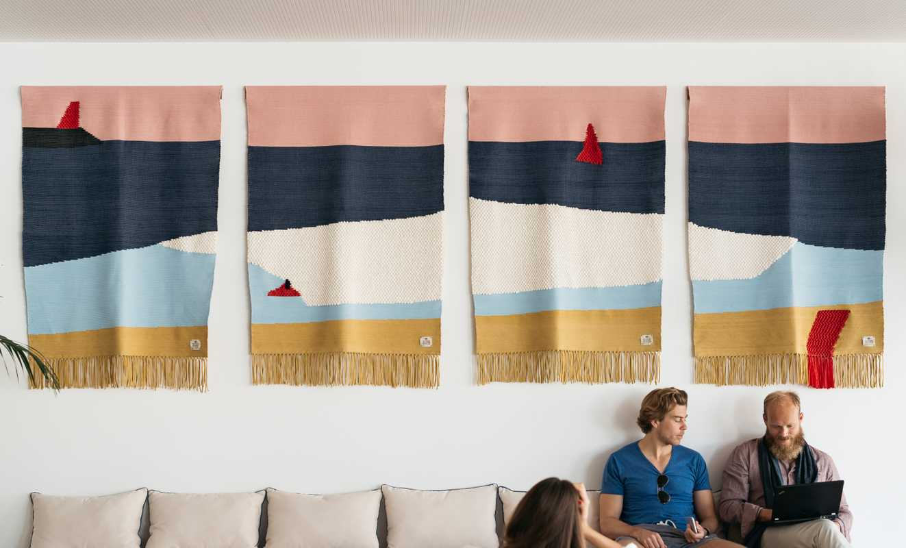 Rugs by Blanchard and Portuguese brand GUR
