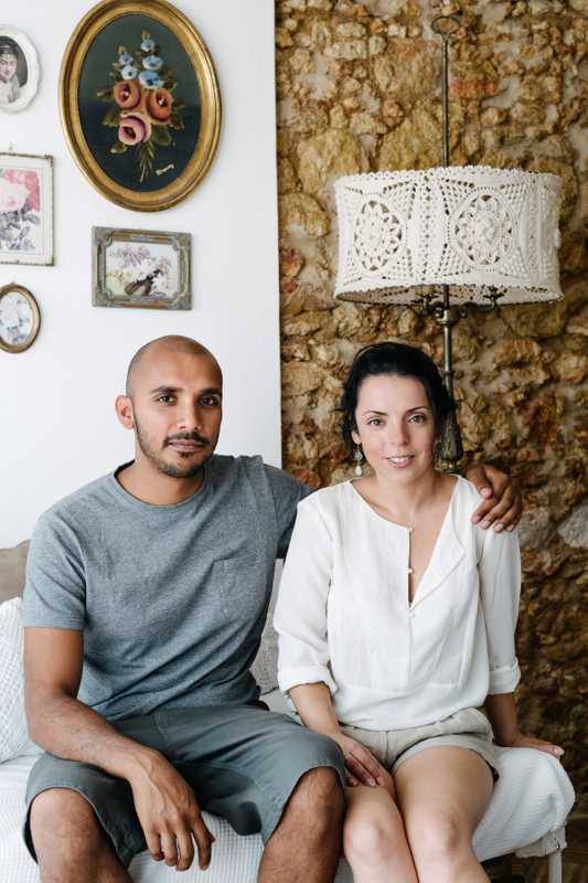 Dave Mattu and Tatiana Bento of Marmalade House