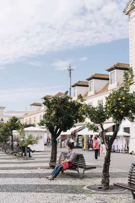 Vila Real's square