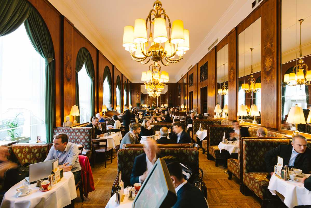 Or go bolder and visit Café Landtmann, one of the city's most opulent coffeehouses