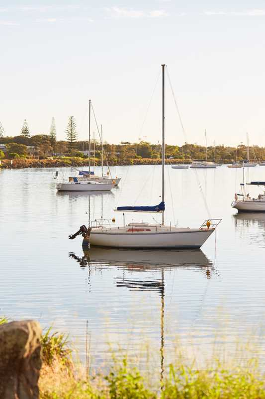 Boats at Yamba Marina