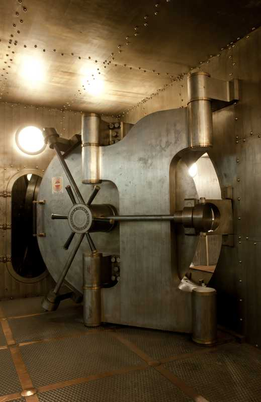 Vault at Cariplo bank