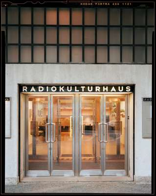 Entrance to RadioKulturhaus