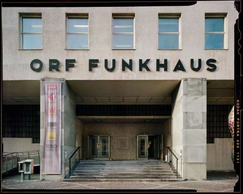 Funkhaus's main entrance