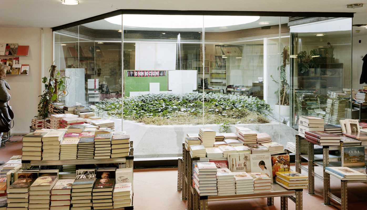 In-house bookshop