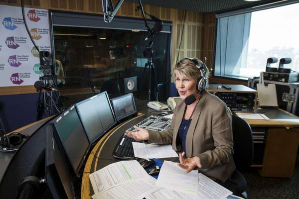 Fran Kelly, host of ABC Radio National's 'Breakfast' programme, is exhilarated by the impact breakfast radio can have