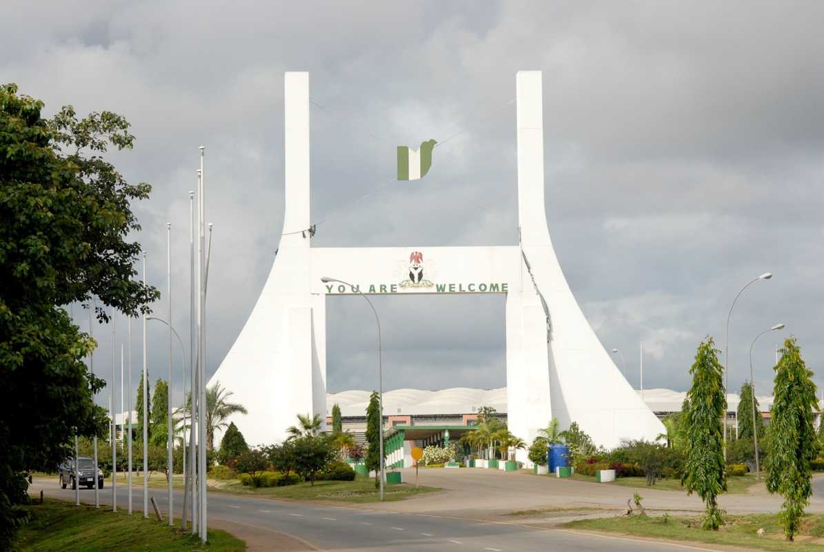 Abuja's city gate