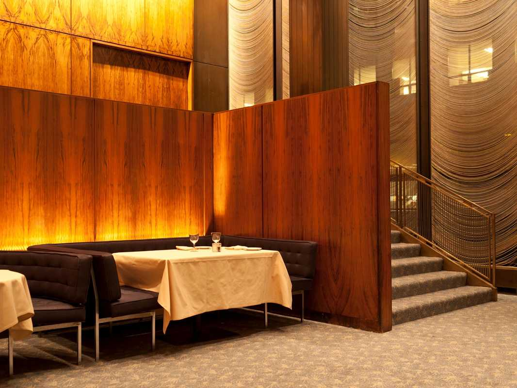 Grill Room, Four Seasons, New York
