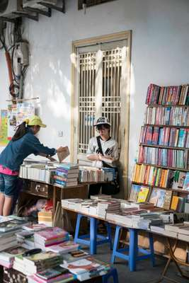 Bookshop on  Nguyen Xi Street
