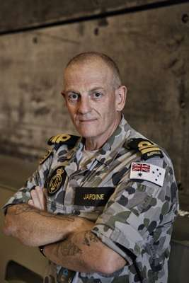 Lieutenant Gordon Jardine, Boat Group Commander