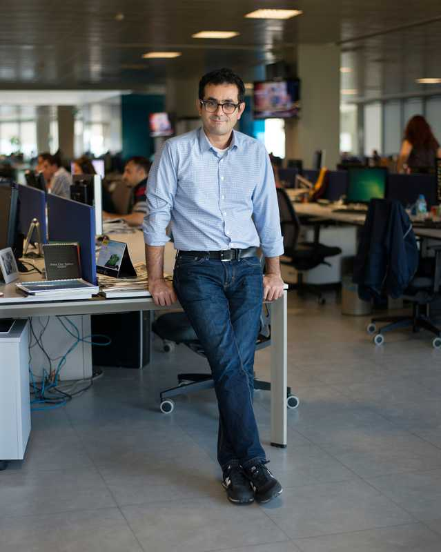 Cem Erciyes, weekend supplement editor for 'Radikal'