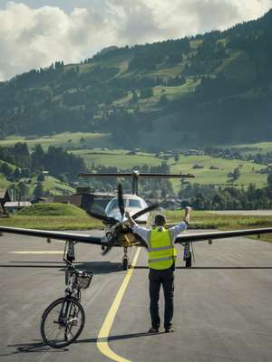 Marc Steiner, Gstaad Airport's hands-on CEO